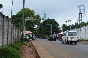 Street view of Monrovia